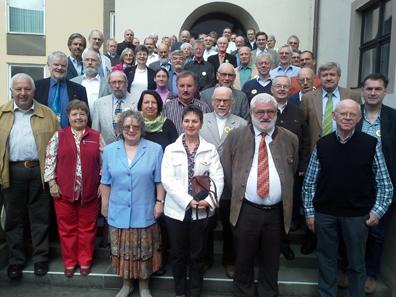 Gruppenbild der Teilnehmer.