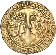 Italy. Kingdom of Sicily. Ferdinand I and Isabella, 1476-1504. Ducat, Naples, 1503-1504. MIR 114. Very rare. Very fine. Estimate: 8,000 euros.