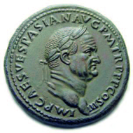 40: Vespasian, 69-79. Sesterz. Rom, 71. Vorzüglich. Ausruf: 45.000 CHF.
