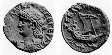 Nero, 54-68. Tetradrachm, 67/8. Rev.