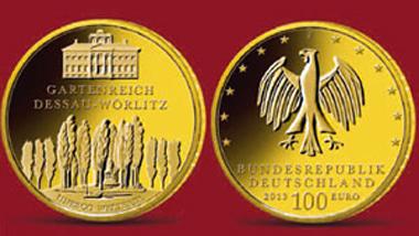 Deutschland / 100 Euro / .9999 Gold / 15,5 g / 28 mm / Design: Lorenz Crössmann / Auflage: 220.000.