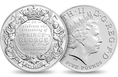 The 5GBP BU coin.
