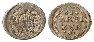2068: Fugger-Babenhausen-Wellenburg. Georg IV., 1598-1643. Kipper-Kreuzer 1622. Vorzüglich. Schätzung: 40 Euro.