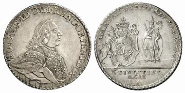 3692: Würzburg. Konventionstaler 1766