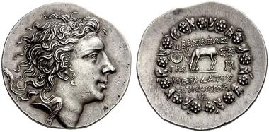 Lot 289: JDL Collection. Greece. Kingdom of Pontus. Mithradates VI. Tetradrachm. Estimate CHF 25,000.