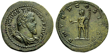 Lot 319: THE ROMAN EMPIRE, POSTUMUS, July/August(?) 260-May/June 269. Sestertius, Cologne 261, AE.