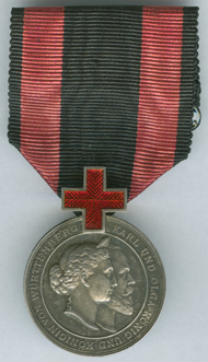 Charles-Olga-Medal for services rendered to the Red Cross. AM 2289-1.