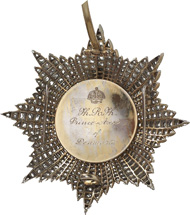 1085: Ottoman Empire. Order of Osmanieh. 2nd class. Extremely fine. I-II. Estimate: 30,000 euros.