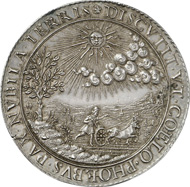 3010: France. Henry IV, 1589-1610. Silver medal n. y., unsigned, on The Happy State of France. Jones 200. Extremely fine. Estimate: 1,000 euros.