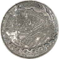 3527: Germany / Hamburg. Silver medallion 1636, by S. Dadler. Very rare. Extremely fine to FDC. Estimate: 20,000 euros.