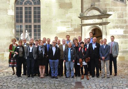 Die Teilnehmer des Workshops