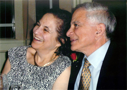 Marian Scheuer Sofaer and the Honorable Abraham D. Sofaer. Photograph: Laurie Cameron.