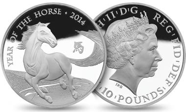Great Britain / 10 GBP / 5oz 999 silver / 156.295g / 65.00mm / Design: Ian Rank-Broadley FRBS (obverse), Wuon-Gean Ho (reverse).