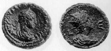 Vaballathus. Tetradrachmon, 272. Rv. Büste des Sol n. r. D. 5508. Blancon, Liste 31 (1999-2000), 756.