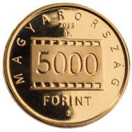 Hungary / 5,000 HUF / Au .999 / 0.5 g / 11 mm / Designer: Antal Illyés (obv) and György Szabó (rev) / Mintage: 5,000.
