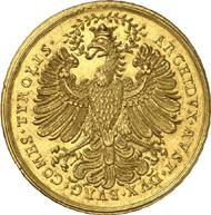 Der Ehrenpfennig zu 15 Dukaten von Leopold I. (1657-1705) kam auf 80.000 Euro.