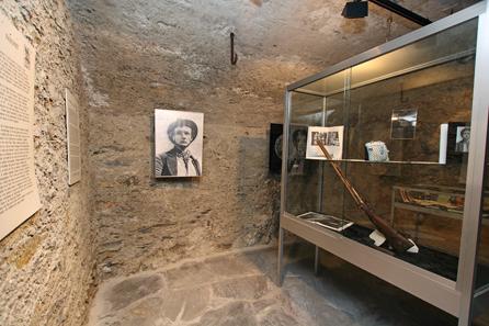 Salle Farinet, Musée de la Fausse Monnaie in Saillon. © Yannick Broccard.