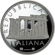 Italy / 5 Euro / .925 silver / 18g / 32mm / Design: Annalisa Masini / Mintage: 7,000.