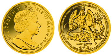 Isle of Man / 20oz 999.9 gold / 15.00mm /Mintage: 1,000.