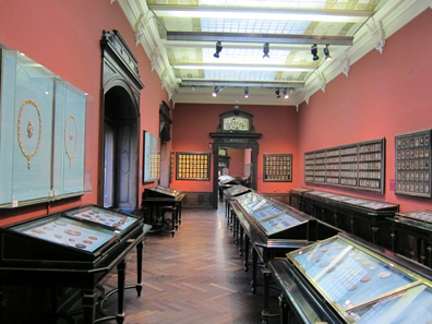 The permanent exhibition of the coin collection of the Kunsthistorisches Museum, Vienna, opened in 1891. Photo: KW.