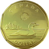 Winner of the Best New Circulating Coin Innovation 2013: 1 dollar coin 'Loonie'.