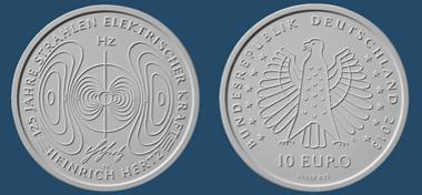 Die neue deutsche 10-Euro-Gedenmünze. © BADV.