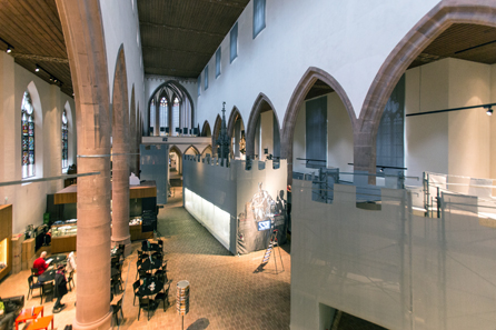 View into the nave. Photo: HMB Philipp Emmel.