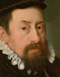 Nicolas Neufchâtel: Kaiser Maximilian II. als etwa Vierzigjähriger, um 1566.