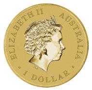 Australia / 1 AUD / Aluminium-Bronze / 13.80g / 30.60mm / Mintage: Unlimited.