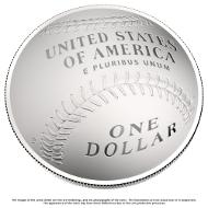 Die neue Silbermünze. © US Mint.