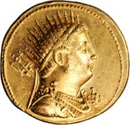 90: PTOLEMAIC EGYPT. Ptolemy IV. AV Octodrachm (27.85 gms), Alexandria Mint, 221-204 B.C.