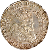 1461: NORWAY. Speciedaler, 1637. NGC MS-62.