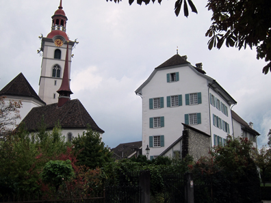 Sankturbanhof in Sursee. Photo: KW.