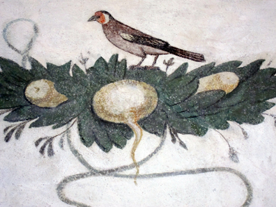 Detail of the painting. Photo: KW.