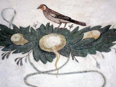 Detail der Malerei. Foto: KW.
