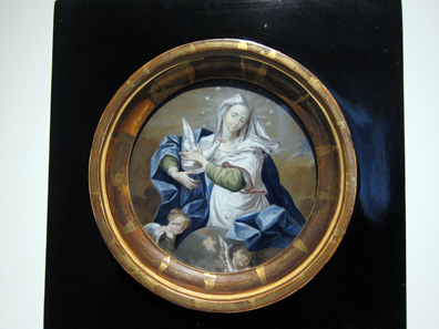 Johann Crescenz Meyer, Mystical Marriage of Mary. Photo: KW.