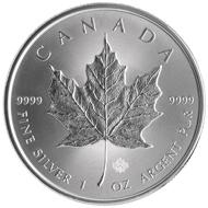 The new Silver Maple Leaf bullion coin.
