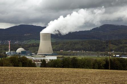 Kernkraftwerk Gösgen im Herbst 2013.