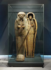 Ägyptischer Sarkophag, um 960-900 v. Chr. Museum zu Allerheiligen, Schaffhausen.