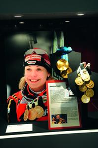 Magdalena Neuners Goldmedaillen. © The Munich Show.