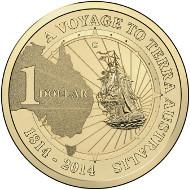 2014 $1 C mintmark