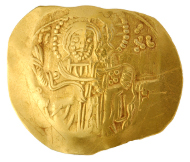 Unknown Artist. Hyperpyron of John III Vatatzes, 1221-1254. Numismatic Museum, Athens.