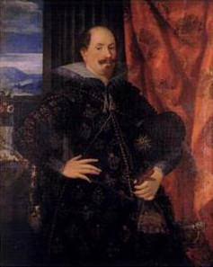 Graf Ernst von Holstein-Schaumburg (1569-1622), Gemälde von Hans Rottenhammer, 1612. Quelle: Wikicommons.