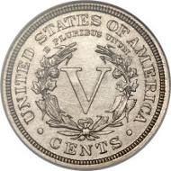 5161: 1913 5C Liberty PR64 NGC. CAC. Realized: $3,290,000.