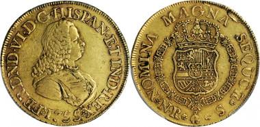 479: COLOMBIA. 8 Escudos