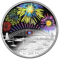Australia / 1 $ / 1oz .999 silver / 40.70 mm / 15,000.