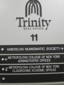 Die ANS teilt sich den 11. Stock des Gebäudes mit dem Metropolitan College of New York. Foto: UK.