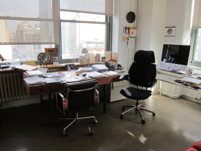 The office of Ute Wartenberg Kagan, Executive Director of the ANS. Photo: UK.