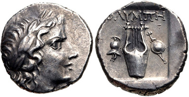 171: LYCIAN LEAGUE, circa 167-100 BC. AR Drachm. Estimate: $150.