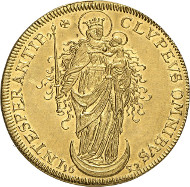 No. 3315. Germany / Würzburg. Johann Philipp I von Schönborn, 1642-1673. 5 ducats 1652, Nuremberg. Very rare. Extremely fine to FDC. Estimate: 25,000 euros.